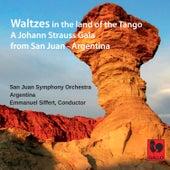 Johann Strauss II: Kaiserwalzer, Op. 437 - Rosen aus dem Süden Op. 388 - An der schönen blauen Donau, Op. 314 von San Juan Symphony Orchestra