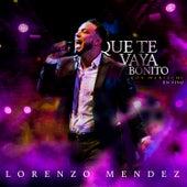Que Te Vaya Bonito (Mariachi, En Vivo) by Lorenzo Mendez