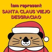 Santa Claus Viejo Desgraciao de Lem Represent