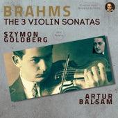 Brahms: The 3 Violin Sonatas de Szymon Goldberg