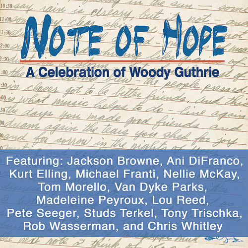 Note of Hope - A Celebration of Woody Guthrie de Various Artists