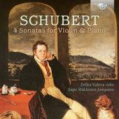 Schubert: 4 Sonatas for Violin & Piano by Zefira Valova