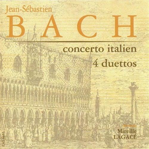 Bach: Concerto Italien - 4 Duettos by Mireille Lagace