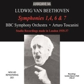 Beethoven: Symphonies Nos. 1, 4 6 & 7 (Remastered 2021) by BBC Symphony Orchestra