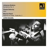 Brahms, Debussy & Ravel: Orchestral Works (Live) by Lorin Maazel