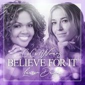Believe For It by Cece Winans