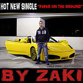 Paper On the Ground - Single de Zaki
