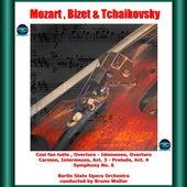 Mozart , Bizet & Tchaikovsky: Così fan tutte , Overture - Idomeneo, Overture - Carmen, Intermezzo, Act. 3 - Prelude, Act. 4 - Symphony No. 6 fra Bruno Walter