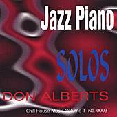 Jazz Piano Solos by Don Alberts