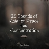 25 Sounds of Rain for Peace and Concentration by Lullabies for Deep Meditation