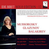 Mussorgsky, Glazunov & Balakirev: Piano Works (Live at Lille Festival, 1993) fra İdil Biret