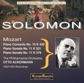 Mozart: Piano Works by Solomon