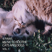 4 Paws Music To Soothe Cats and Dogs Vol. 1 by Cat Music