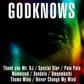 Thank you Mr. DJ / Special Star / Pata Pata / Mamaland / Sondela / Umqombothi / Thuma Mina / Never Change My Mind by GodKnows