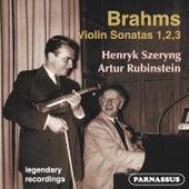 Brahms: Violin Sonatas 1, 2, 3 von Henryk Szeryng