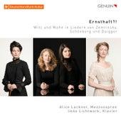 Ernsthaft?!: Witz und Wahn in Liedern von Zemlinsky, Schönberg und Daigger by Alice Lackner