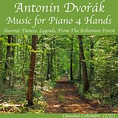 Dvorak: Music for Piano 4 Hands : Slavonic Dances & Legends, from The Bohemian Forest (For the four hands, the performer plays two times by the re-recording) by Claudio Colombo