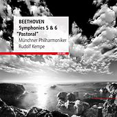 Beethoven : Symphonies 5 & 6 by Rudolf Kempe