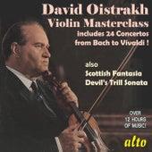 David Oistrakh - Violin Masterclass de David Oistrakh