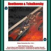 Beethoven & Tchaikovsky: Piano Concertos No. 3 & 1 by Mark Hambourg