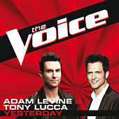 Yesterday by Adam Levine