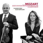 Sonata for Piano and Violin in A Major, K. 305: I. Allegro di molto by Claudio Cruz