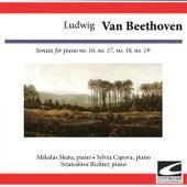 Ludwig van Beethoven: Sonata for piano Nos. 16, 17, 18, 19 by Sylvia Capova