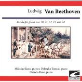 Ludwig van Beethoven: Sonata for piano Nos. 20, 21, 22, 23, and 24 by Mikulas Skuta