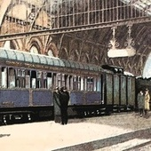 The Blue Train by Nancy Wilson