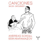 Bach - Brouwer: Canciones by Andreas Scholl