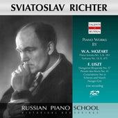 Mozart & Liszt: Piano Works (Live) de Sviatoslav Richter