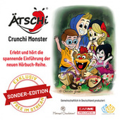 ÄTSCHI® Crunchi Monster - Das Ei - Hörbuch Folge 1 (Sonderedition) de Bastian Lee Jones