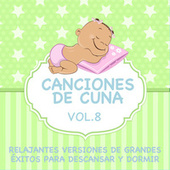Canciones de Cuna - Relajantes Versiones de Grandes Éxitos para Descansar y Dormir, Vol. 8 de Sleeping Bunnies