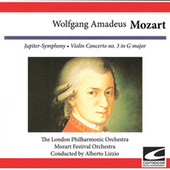 Wolfgang Amadeus Mozart: Jupiter Symphony - Violin Concerto No. 3 in G Major by London Philharmonic Orchestra