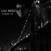 Uniquely Live de Lou Reed