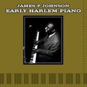 Early Harlem Piano by James P. Johnson