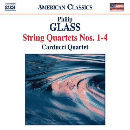 Glass: String Quartets Nos. 1-4 by Carducci String Quartet
