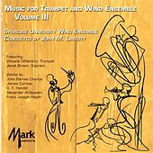 Music for Trumpet and Wind Ensemble, Vol. 3 von Various Artists