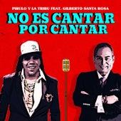 No Es Cantar por Cantar (feat. Gilberto Santa Rosa) by Pirulo y la Tribu