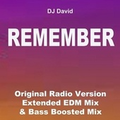 Remember (Original Radio Version, Extended EDM Mix & Bas Boosted Mix) by DJ David