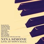Live at Town Hall (Remastered) de Nina Simone