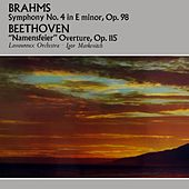 Brahms: Symphony No. 4 by Orchestre Lamoureux