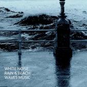 White Noise: Rain & Beach Waves Music by S.P.A