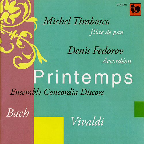 Bach & Vivaldi: Printemps (Accordion and Panpipes) by Denis Fedorov