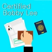 Certified by Bobby Lee