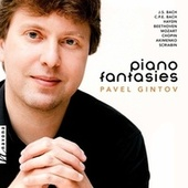 J.S. Bach, C.P.E. Bach & Others: Piano Fantasies fra Pavel Gintov