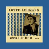 Sings Leider Volume 1 von Lotte Lehmann