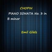 Chopin Piano Sonata No. 3 in B Minor fra Emil Gilels