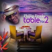 TableFor 2 de Phillip Brooks