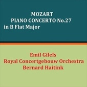 Mozart Piano Concerto No.27 in B Flat Major fra Emil Gilels